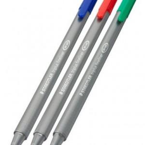 Scorer's fineliner pens