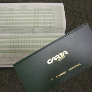 Carta Sport cricket score book copy
